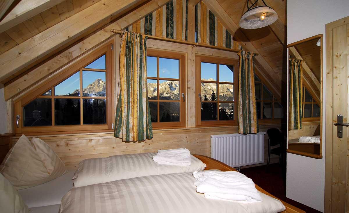 Panorama de la chambre