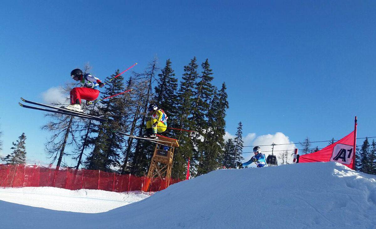 Skicross Austria en Crosspark Reiteralm