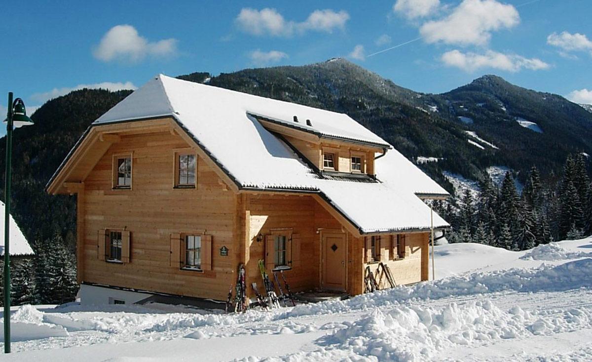 Уютная альпийская хижина Дахштайн