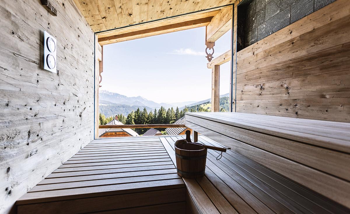 Coccolosa sauna Chalet Kaiseralm