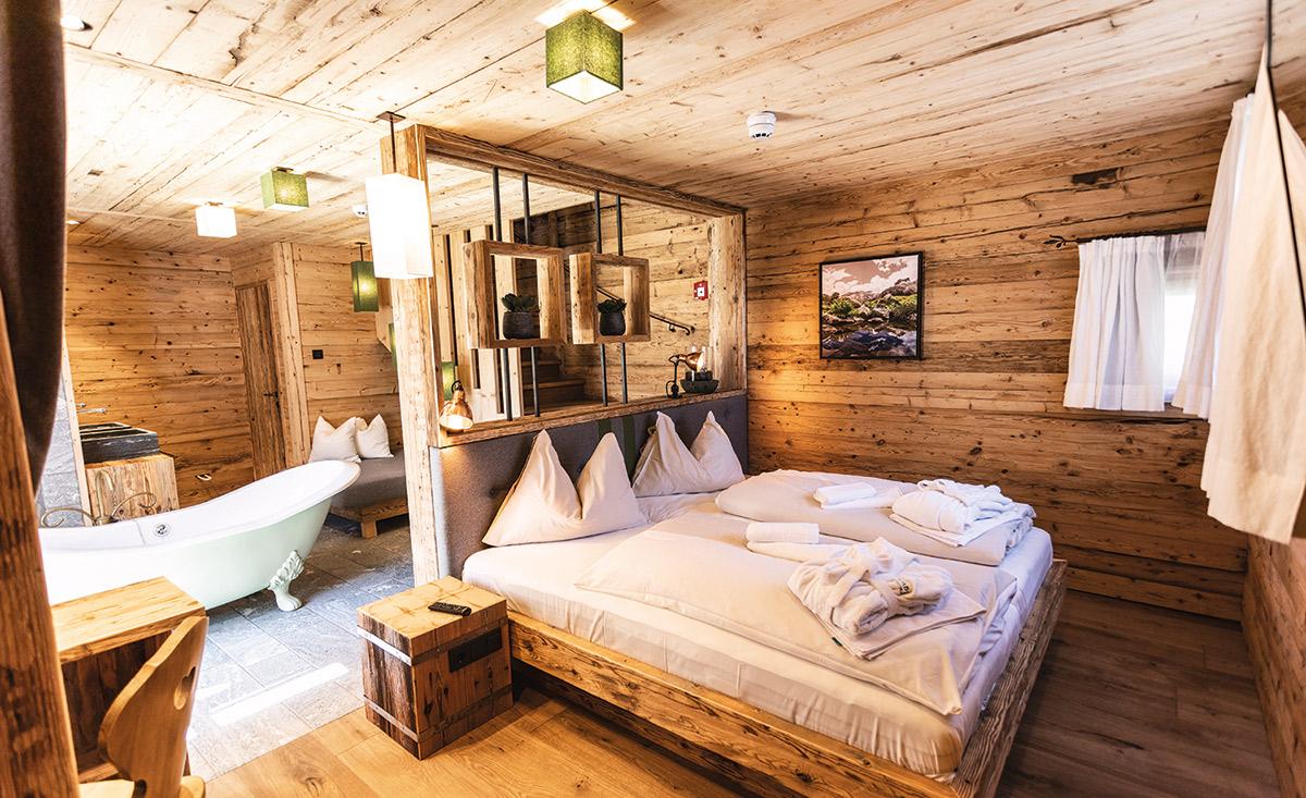Accogliente camera da letto Chalet Empress