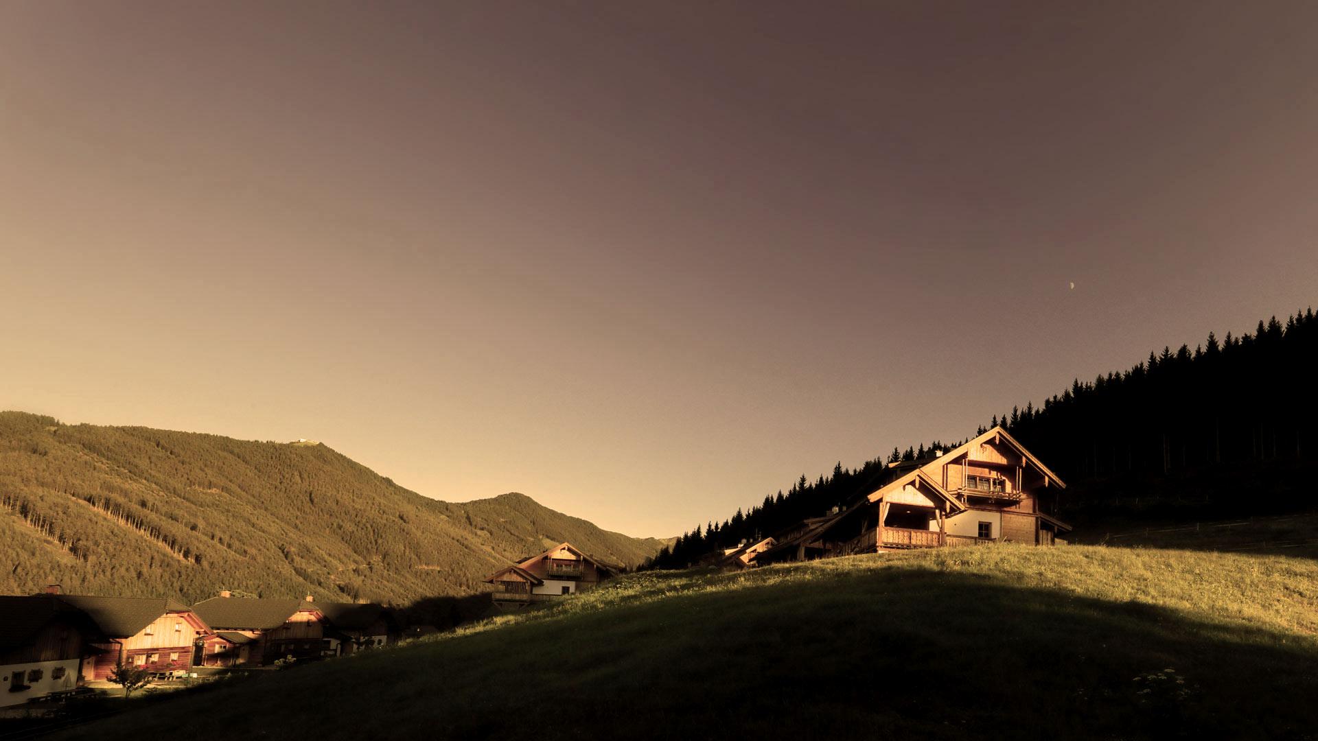 Alm-chalets-austria