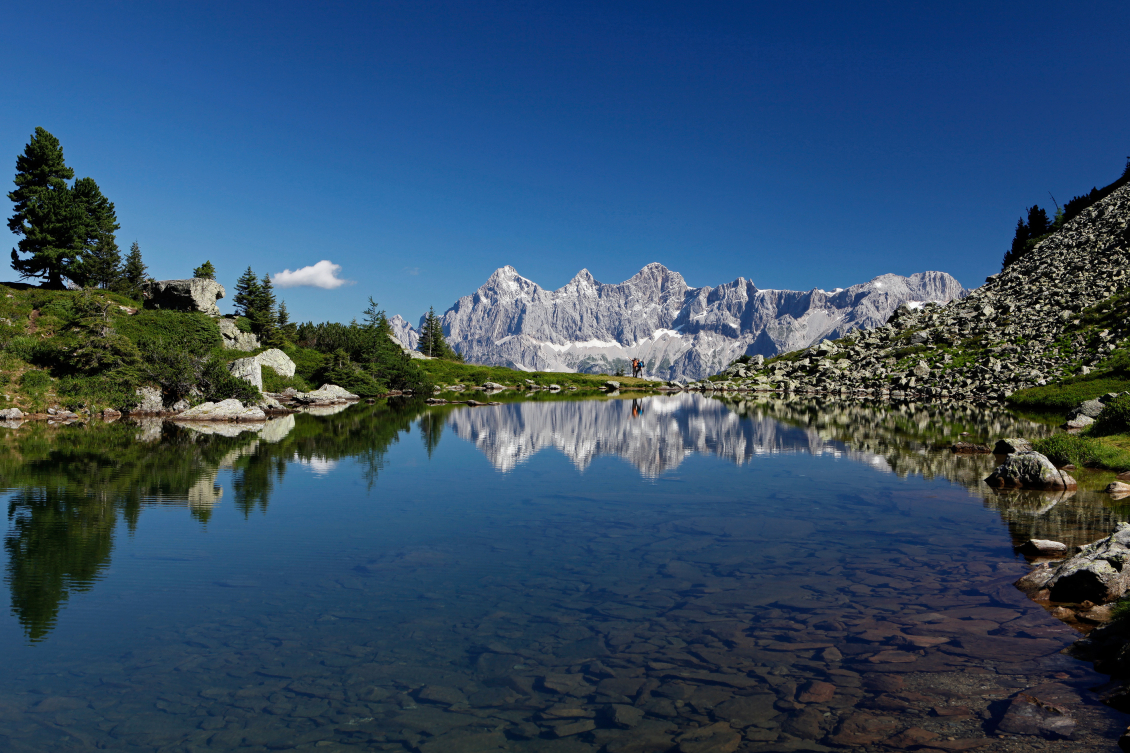 Eau de source fraîche des montagnes ...