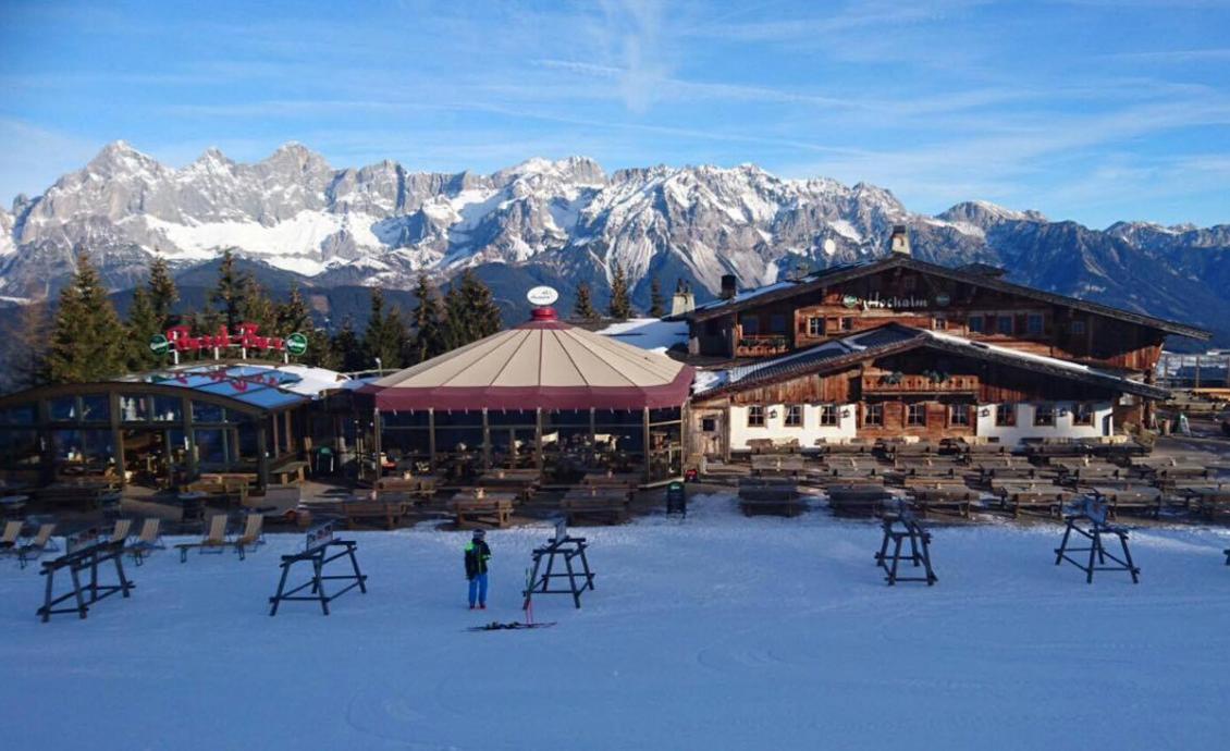 Hochalm - o alojamento de esqui no Reiteralm perto de Schladming.
